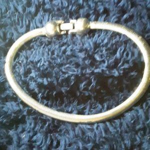 Snake belly necklace